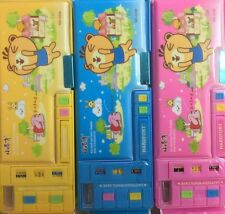 2 Sided Magnetic Multifunctional Pencil Box/ Kids/School/Pencil Case