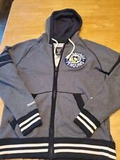 Pittsburgh penguins Hoodie L Mitchell And Ness Vintage Hockey Full Zip