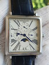Frederique Constant Watch FC265X3C4/5/6 Tripledate Moonphase Mens Swiss