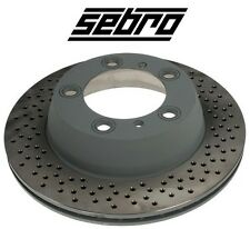 For Porsche Boxster Cayman Rear Left or Right Disc Brake Rotor SEBRO 205828
