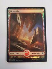 Mountain 268/274 - FOIL - Battle For Zendikar (Magic/mtg) Full Art Land