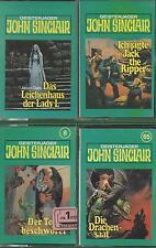 4 MC John Sinclair Tonstudio Braun Kassetten - Sammlung- Angebot
