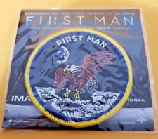 First Man (2018) Promo Patch Movie Studio / Theater IMAX SWAG Gosling Chazelle