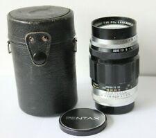 Early Asahi Takumar 135mm f3.5 Pentax M42 Mount Manual Prime Preset Lens