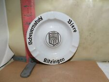 Kitzingen Scheuernstuhl Bier Ashtray - Escenbach Porcelain - No Damage!