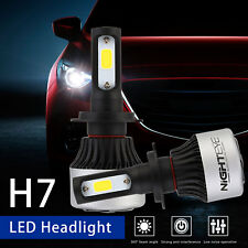 Nighteye H7 72W 9000LM LED Headlight Conversion Kit White Beam Bulb Driving Lamp