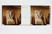 Parigi Museo Del Louvre La Danza Da Carpeaux Placca Da Lente Stereo