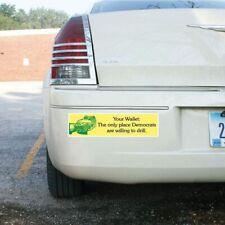 "Funny Republican Bumper Sticker or Magnet Pair - Design #1 - 3""x11.5"" - FREE SHI"