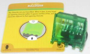 Bulldozer #R200.11 Guerre De Clair Dc Heroclix Vert Lanterne Corps Construction