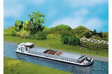 Faller 131006 HO 1/87 Chaland avec cabine d'habitation - River cargo boat