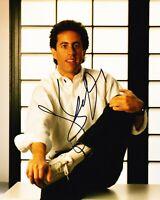 Jerry Seinfeld Signed 10X8 Photo Genuine Autograph AFTAL COA (B)