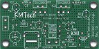 Quality 2x BRIDGED TDA2003 mono amplifier Chipamp Gainclone  DIY PCB KMTech.