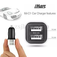 Quick Charge 24W Dual USB Port 5V 4.8A Car Charger for Samsung S7 edge Note 7