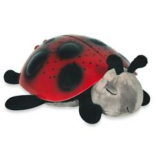 Twilight LadyBug Night Light Projector 8 Constellations RED BACK by Cloud B
