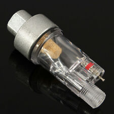 """Airbrush 1/8"""" Mini Air Filter Moisture Water Trap Fittings Hose Paint Spray Gun"""