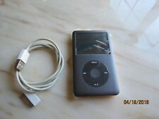 MINT Apple iPod classic 7th Generation Black (256 GB) Latest Model+New Battery