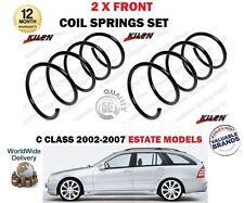 für Mercedes Kombi S203 Kompressor CDI cdgi 2002- > NEU 2x VORNE FEDERN SET