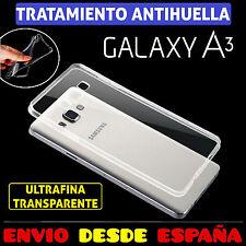 Funda TPU de gel 100 transparente silicona para Samsung Galaxy A3 2015 carcasa