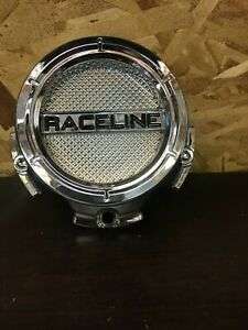 RACELINE USED CENTER WHEEL CAP C318L127S CHROME Fits 5x5 JEEP or Chevy