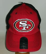 San Francisco 49ers Red and Black Fitted one size fits most NFL Hat New
