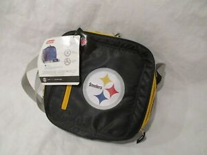 COLEMAN NFL PITTSBURGH STEELERS INSULATED COOLER LUNCH TOTE - 12 CAN COOLER
