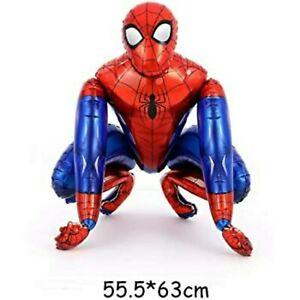 Superhero Marvel Spiderman 3D Birthday Party Balloon, comic fun, decoration