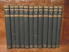 SHAKESPEAR 12 VOLUME SET 1885 THE MERSHON CO.