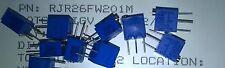 3pcs BOURNS RJR26FW201M 200R 10% 0.25W 12(Elec)Turns 1.78mm Cermet Trimmer