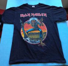 Iron Maiden - Concert tour T-shirt - 1 et 2 Juillet 2008 Paris Bercy