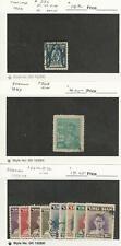 Thailand, Postage Stamp, #232, 263, 264-272 Used, 1932-49, JFZ
