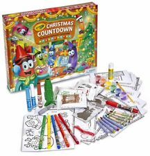 Crayola Advent Calendar Christmas Countdown Activity Kit