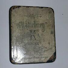 Waterbury Series K Antique Pocket Watch Box