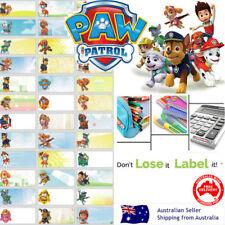 Paw patrol kids Personalised Name Label preschool back2school pencil sticker