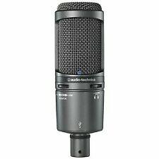 Audio Technica At2020usb Plus USB Recording Mic W/headphone Output Mix Control