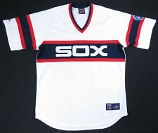 Vintage Chicago White Sox Majestic Cooperstown Collection 75th Blank MLB Jersey