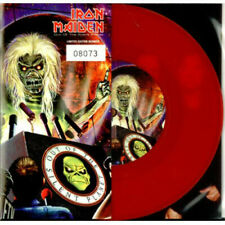 """IRON MAIDEN - OUT OF THE SILENT PLANET - LIMITED + NUMBERED RED VINYL 7"""""""