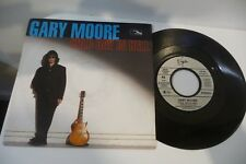 GARY MOORE 45T COLD DAY IN HELL / ALL TIME LOW. 7""