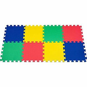 BABY KID PLAY ROOM POOL SPORT GYM HOME OUTDOOR SOFT DURABLE EVA MATS 30 X 30