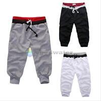 Baggy Jogger Casual Trousers Shorts Mens Boys Sports Pants Harem Training Dance