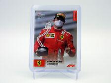 Carlos Sainz Scuderia Ferrari 2021 Topps Now Formula 1 Racing 1st Podium Card 12