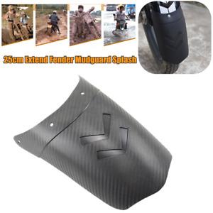 Motorcycle Front/Rear Fender Mudguard Splash Sand Guard Extend Fender Universal