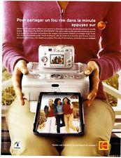 2004 / Station Kodak  Easyshare / impression photo / publicity / advertising