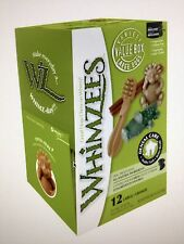 Whimzees Variety Mix ~ 12 Items For LARGE DOGS Vegetarian Dog Chews Gluten Free