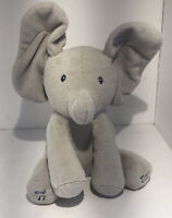 GUND Baby Animated Flappy The Elephant Plush Toy Sings & Plays Peek A Boo!