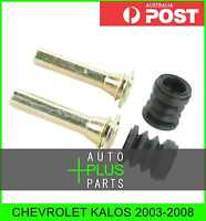 Fits CHEVROLET KALOS Brake Caliper Slide Pin Brakes (Front)