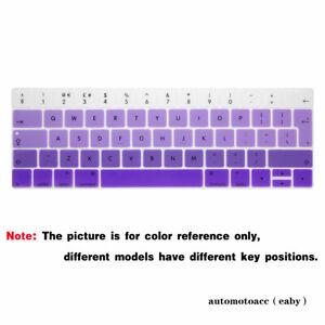For Macbook Pro 13'' A1706/A1989/A2159 15'' A1707/A1990 EU Color Keyboard Cover