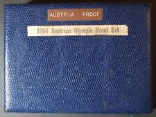 1964 Austria Proof Set, 9 Coin Set