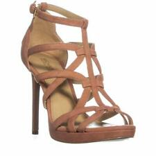 Michael Michael Kors Womens Sandra Plaatfrom Suede Open Toe Special Occasion ...