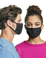 Hanes Wicking Baumwolle Gesichtsmaske Abdeckung - 5 Packung