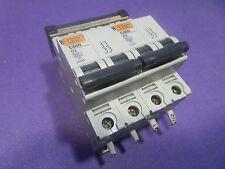 Merlin-Gerin multi9 C60N Circuit Breaker C3 2-pole Lot 2, USED